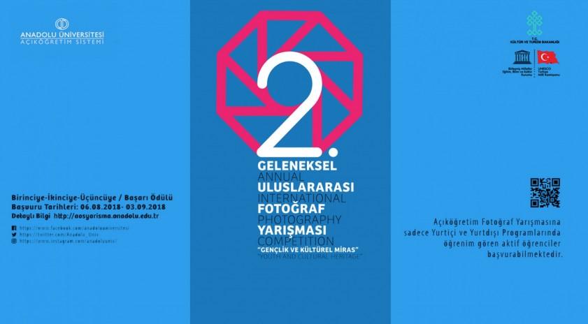 Anadolu Üniversitesi Açıköğretim Sisteminden Geleneksel Uluslararası Fotoğraf Yarışması